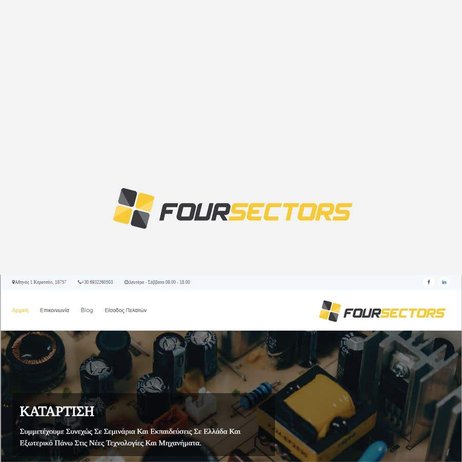 cfc4616d4c2 Entry #132 by vojvodik for I need a logo for my company Four Sectors ...