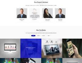 masuqebillah tarafından Design a web template that goes well with Tradies App için no 12