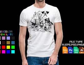 #44 untuk Creative Archaeology T-Shirt/Tanktop/Hoodie Design Contest! oleh sajeebhasan177