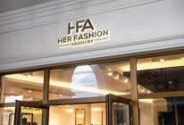 Graphic Design Konkurrenceindlæg #6 for 'Her Fashion Armoury' or the Acronym 'HFA' in a logo. No bright colours. Classic design. Will be for an online female clothing rental business