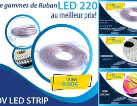 #58 для 4 Products Banners for our French Led strip ecommerce website от somasaha979