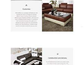 Nro 14 kilpailuun Full home page design käyttäjältä oneginaalyona