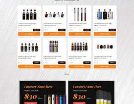 Nro 7 kilpailuun Full home page design käyttäjältä mithu2219146