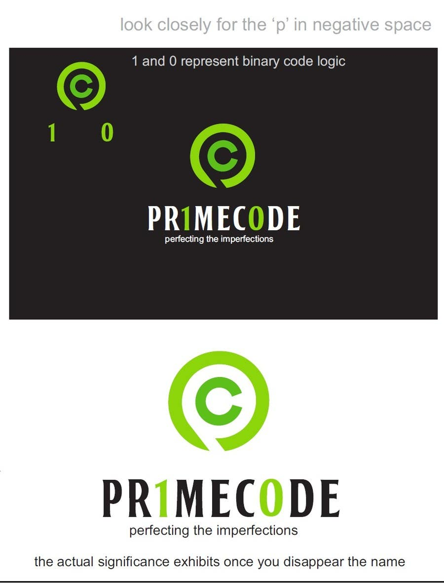 #106 for Logo Design for technology company 'Primecode' with tag line by TheAVashe
