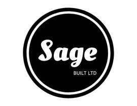 #17 для I need a Logo for my new company Sage Built Ltd. I really like the old retro Esso logo attached. I would like outside red perimeter to be dark forest green , with black cursive font in lieu of navy. The person with the best logo design wins, Good luck! от aleksaantic