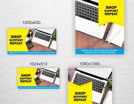 #14 para Promo Banner - Shop Support Repeat por luphy