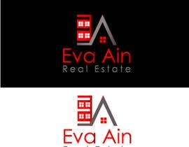 #15 untuk I am looking for a sleek and modern logo for my real estate business. The name is Eva Ain Real Estate and my initials are EA.  You can use a house or not, I am okay with either. I am looking for silver/black or silver/black/red. Thank you! oleh ihsanaryan