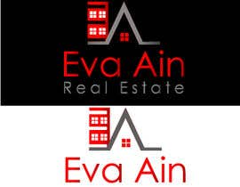 #16 untuk I am looking for a sleek and modern logo for my real estate business. The name is Eva Ain Real Estate and my initials are EA.  You can use a house or not, I am okay with either. I am looking for silver/black or silver/black/red. Thank you! oleh ihsanaryan