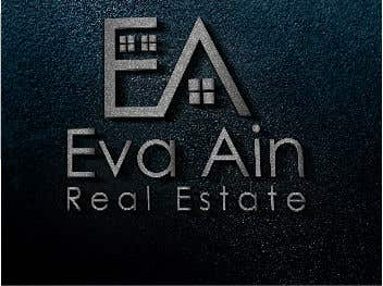 Penyertaan Peraduan #24 untuk I am looking for a sleek and modern logo for my real estate business. The name is Eva Ain Real Estate and my initials are EA.  You can use a house or not, I am okay with either. I am looking for silver/black or silver/black/red. Thank you!