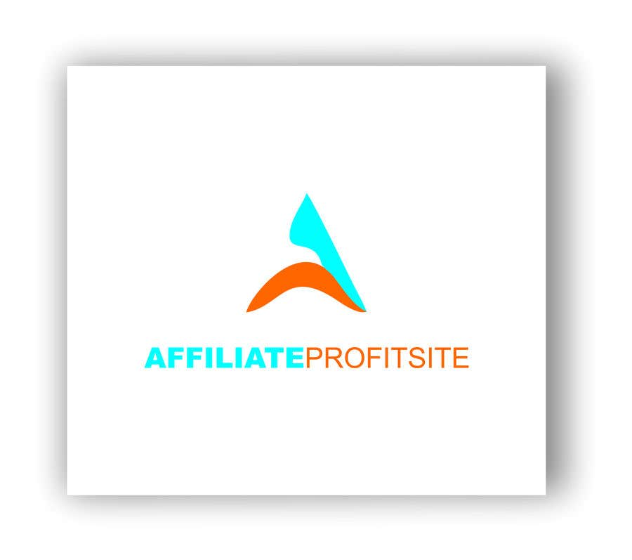 """Intrarea #71 pentru concursul """"I'm putting together a site called: affiliateprofitsite. I would like a logo similar to the examples attached. I want it easy to read, clean, modern and the color scheme should consist of blue, orange, black and white or the Clickfunnels colors lol."""""""