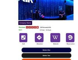 Nro 73 kilpailuun Design HTML/CSS Mobile landing page and Coupon Page käyttäjältä arifmehrab
