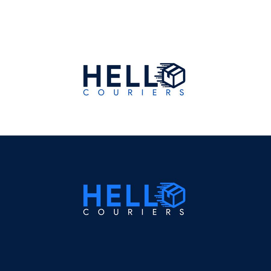 Entry #122 by tisirtdesigns for logo designed for courier