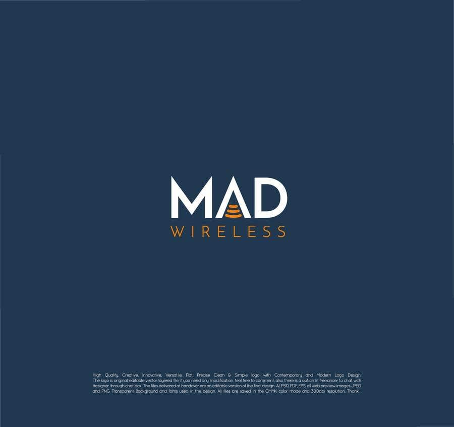 Konkurrenceindlæg #189 for Logo Design for Mad Wireless