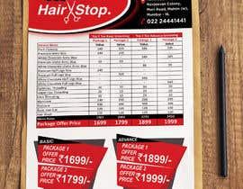 Nro 22 kilpailuun Design a Package Menu Card käyttäjältä SaxenaKuldeep