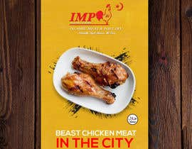 #152 untuk Create a poster advertising chicken meat oleh nak576969a6e7ffb