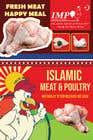 Graphic Design Kilpailutyö #14 kilpailuun Create a poster advertising chicken meat