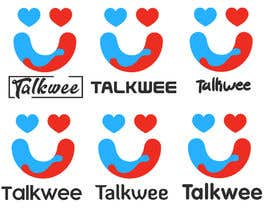 #10 for I need logo for dating site where user will be able to make calls to each other. Name is talkwee.com af ngomezjurado