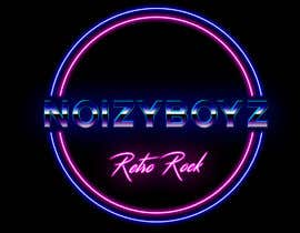 #11 untuk I need a band logo designed for a cover band that plays retro rock/ pop. Thinking neon or 80s style. Band name is                      NoizyBoyz.                                                     Show me what you've got oleh krishnendum842