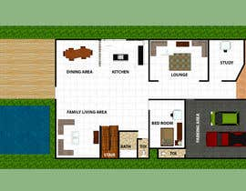 #11 for House redesign (floor plan & basic exterior sketches only) af shahidullah79