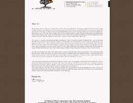 Nro 28 kilpailuun Letterhead design käyttäjältä rashedul070