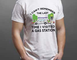 nº 76 pour Create a funny sticker/t-shirt/mug design promoting electric cars par hasembd