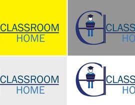nº 56 pour Logo for an online educational website Classroom Home par laraibkay