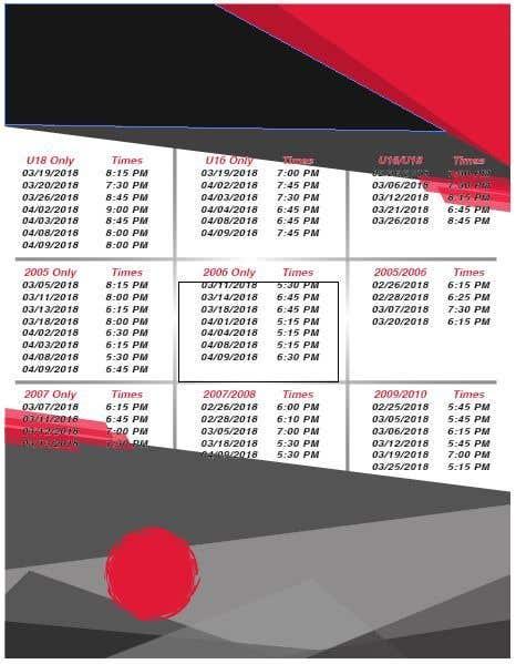 Contest Entry #3 for TK Hockey Flyer Design