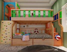 #44 pentru Design a cool bed for my two boys (5 and 2). de către Archestudio
