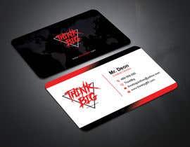 nº 88 pour design double sided business cards - THINK BIG par ronyahmedspi69