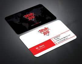 nº 106 pour design double sided business cards - THINK BIG par ronyahmedspi69