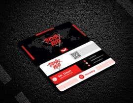 nº 101 pour design double sided business cards - THINK BIG par Sufyanmustafa