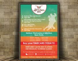 #23 pentru Make a weekly schedule for a dance studio de către reshmaguptanag