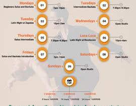 #25 pentru Make a weekly schedule for a dance studio de către sk01741740555