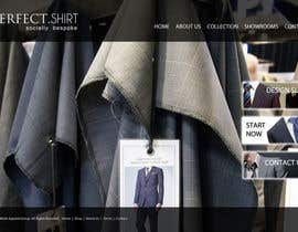 dragnoir tarafından Website Design for Magento Ecommerce Site - Mens custom clothing için no 22