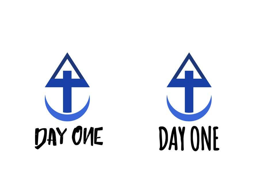 Penyertaan Peraduan #16 untuk Logo. Company name is Day One. Logo is combo of the major religious symbols. Cross. Star of David. And moon/Muslim.  With the combo it appears to form a boat. The boat is a symbol of unity and world salvation and peace and harmony.
