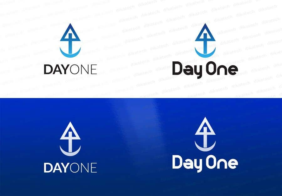 Penyertaan Peraduan #10 untuk Logo. Company name is Day One. Logo is combo of the major religious symbols. Cross. Star of David. And moon/Muslim.  With the combo it appears to form a boat. The boat is a symbol of unity and world salvation and peace and harmony.