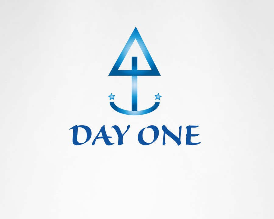Penyertaan Peraduan #23 untuk Logo. Company name is Day One. Logo is combo of the major religious symbols. Cross. Star of David. And moon/Muslim.  With the combo it appears to form a boat. The boat is a symbol of unity and world salvation and peace and harmony.