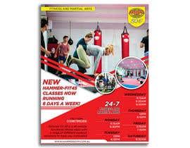 #21 for Re-design flyer for HF45 classes af khshantobd