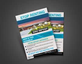 Nro 107 kilpailuun Create a flyer - No Deposit Homes käyttäjältä sujonyahoo007