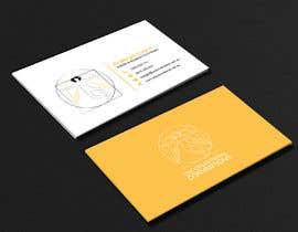 Nro 3 kilpailuun Design a business card käyttäjältä abdulmonayem85