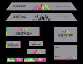 "#35 untuk Design Shop Front for ""Liquor World"" retail store oleh darbarg"