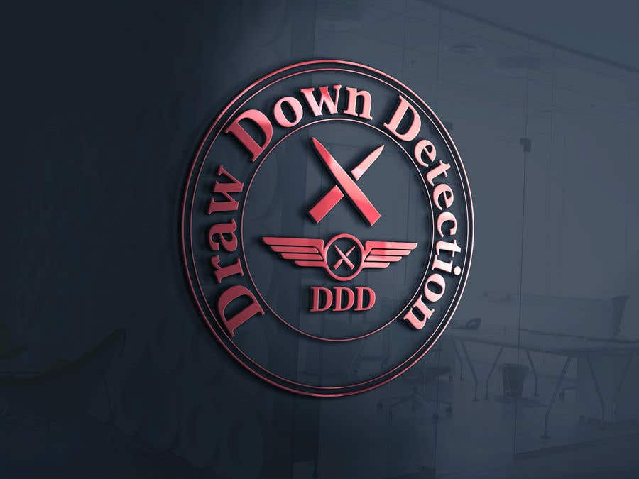 "Intrarea #35 pentru concursul ""Draw Down Detection - Logo"""