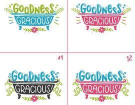 #113 za Goodness Gracious! We need a logo! od OpheliaStudio