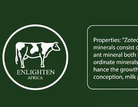 Nro 25 kilpailuun Redesign the following packaging using the two logos of Enlighten Africa and Enlighten International käyttäjältä marazulsss