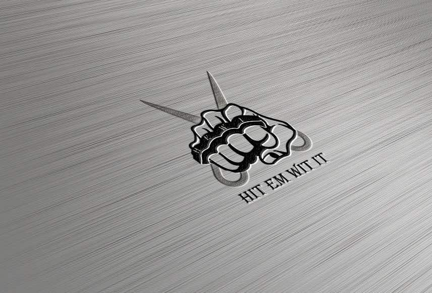 Penyertaan Peraduan #11 untuk I am looking to get a barber logo made. The attached logo has the name attached to it. Hit Em Wit It ((HEWI). I do not want the logo to have any type of fist with it. Just want it to have to do something more with being a barber.