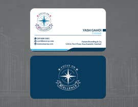 #135 za Need maritime business Card Design with colours of my logo od shazal97