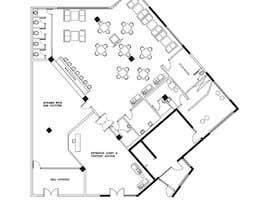 #33 za Restaurant floor plan od subhajitmaitycs