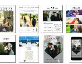 #20 za Mobile Wedding Invitation Theme od hariprasadh10792