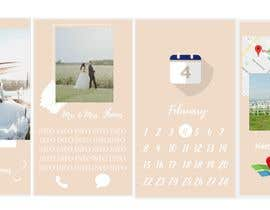 #6 za Mobile Wedding Invitation Theme od aleksaantic