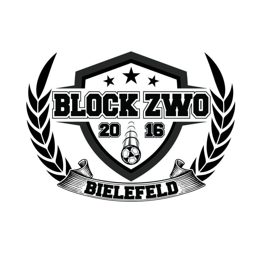 Kilpailutyö #48 kilpailussa German football/soccer fan club Crest/Emblem Logo Design